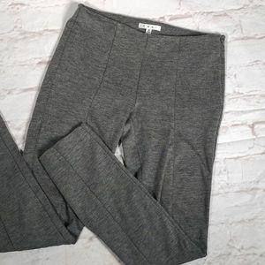 CAbi crop skinny stretch pants Size 4   Light gray